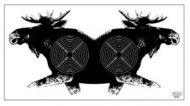 Tarkka Hirvitaulu ik.rataan 41 18,5x11 cm 100 kpl