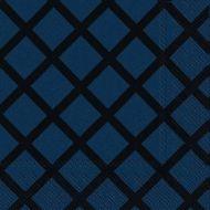 Marimekko lautasliina 33 cm Quilt t.sininen