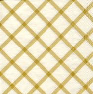 Marimekko lautasliina 40 cm Quilt kulta