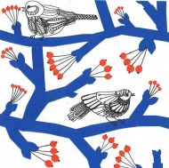 Marimekko lautasliina Pakkanen sininen 33 cm