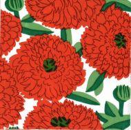 Marimekko lautasliina 25 cm Primavera oranssi C841817