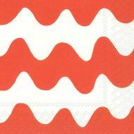 Marimekko lautasliina 25 cm Lokki oranssi C554517