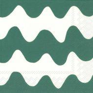 Marimekko lautasliina 25 cm Lokki vihreä C554520
