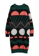 Papu neulemekko Doodle Polo Knit Dress