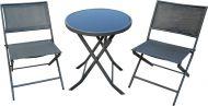 Create Home Kalustesetti Cafe 2 tuolia ja pöytä