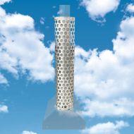 Create Home Kylpytynnyrin piipunsuojaritilä