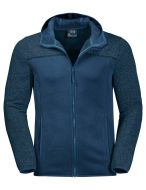 Jack Wolfskin Fleece Elk hooded jacket 1707101
