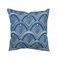 Create Home tyyny Kaari 45x45 cm sininen puuvilla