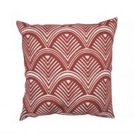 Create Home tyyny Kaari 45x45 cm ruskea puuvilla