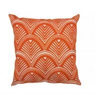 Create Home tyyny Kaari 45x45 cm oranssi puuvilla