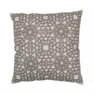 Create Home tyyny Kukka 45x45 cm v.harmaa puuvilla