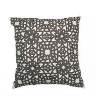 Create Home tyyny Kukka 45x45 cm t.harmaa puuvilla