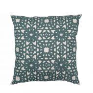 Create Home tyyny Kukka 45x45 cm petrooli puuvilla