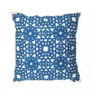 Create Home tyyny Kukka 45x45 cm sininen puuvilla