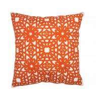 Create Home tyyny Kukka 45x45 cm oranssi puuvilla