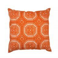 Create Home tyyny Säde 45x45 cm oranssi puuvilla