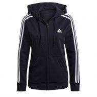 Adidas collegetakki 3S ft fz hoody w GL0804