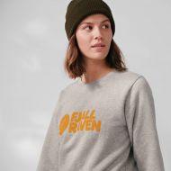 Fjällräven naisten college Logo Sweater W