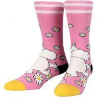 Nvrlnd Muumi-sukat Muumi kukat L/XL vaaleanpunainen