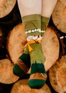 Nvrlnd Muumi-sukat Nuuskamuikkunen S/M vihreä