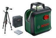 Bosch linjalaser Advanced level 360 + TT150