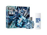 Diesel Only The Brave EdT ja suihkugeeli lahjapakkaus miehille