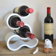 Koziol Viinipulloteline Boa valkoinen