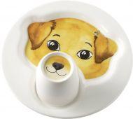 Villeroy&Boch Animal Friends Lasten astiasto  22 cm 0,19l koira