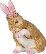 Villeroy&Boch Easter Koriste Easter Bunnies sukiva pupu 9x5,5x10 cm