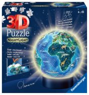 Ravensburger Palapeli Children Globe Nightlight, 72 palaa