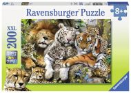Ravensburger Palapeli Big Cat Nap, 200 palaa