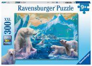 Ravensburger Palapeli Polar bears, 300 palaa