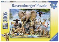 Ravensburger Palapeli African Friends, 300 palaa