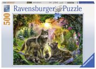Ravensburger Palapeli Wolf´s Family in the Sunshine, 500 palaa