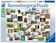 Ravensburger Palapeli AT Funny Animals kollage, 1500 palaa