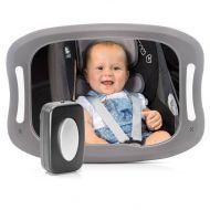 Reer takaistuimen LED-peili autoon iso koko 29x20 cm