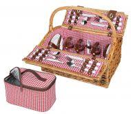 Cilio piknik-kori Rivoli 4 hengelle