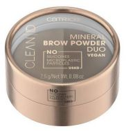 Catrice kulmapuuteri Clean ID Mineral Brow Powder Duo 010