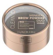Catrice kulmapuuteri Clean ID Mineral Brow Powder Duo 020