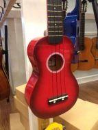 Noir ukulele kaksivärinen punainen sopraano