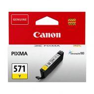 Canon Mustekasetti Canon CLI-571 Y