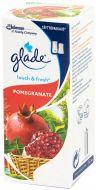 Glade Ilmanraikastin täyttöpakkaus Touch&Fresh Pomegranade 10 ml