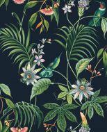 Sandudd Prestige tapetti 106976 kasvit musta nonwoven 10,05m