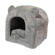 Rosewood Teddy kissanpesä 38x38x40 cm harmaa