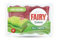 Fairy Colours monikäyttöinen hankaussieni 4 kpl