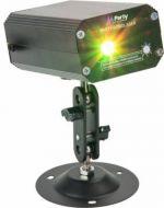 Party Firefly laser efekti vihreät ja punaiset valot