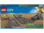 Lego City Trains Vaihtoraiteet
