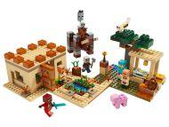 Lego Minecraft Illagerien hyökkäys