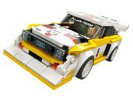Lego Speed Champions kilpa-autot Formula E- ja I-PACE eTROPHY