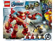 Lego Super Heroes Iron Man Hulkbuster vastaan A.I.M.- agentti
